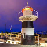 Oslo Lighthouse. Lighthouse at Aker Brygge in Oslo, Norway Royalty Free Stock Photo