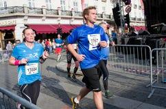 Oslo Marathon, Norway Royalty Free Stock Photo