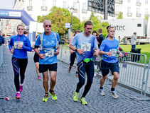 Oslo Marathon, Norway Royalty Free Stock Photography
