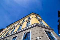 Oslo miasto buduje 12 obrazy royalty free