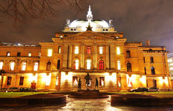 Oslo National Theater Royalty Free Stock Images