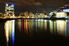 Oslo by night Royalty Free Stock Images