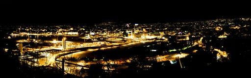 Oslo noc fotografia stock