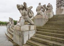 Oslo (Noorwegen) - het Park/Frognerpark van Vigeland Royalty-vrije Stock Foto's