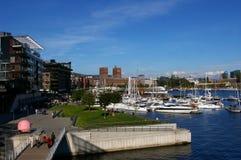 Oslo Norge. royaltyfri bild