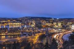Oslo Noruega Fotografia de Stock