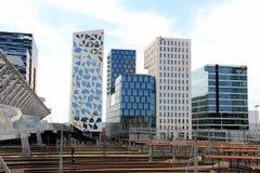 Oslo, Noruega, arquitectura moderna Imagen de archivo libre de regalías