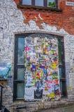 OSLO, NORUEGA - 8 DE JULHO DE 2015: Arte da rua dos grafittis Imagem de Stock Royalty Free