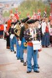 Oslo, Noruega - 17 de maio de 2010: Dia nacional em Noruega Fotografia de Stock