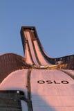 OSLO, NORUEGA - FEVEREIRO 24: Esqui nórdico C do mundo de FIS Imagens de Stock