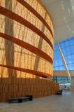 Oslo (Norvegia) - costruzione di opera Fotografia Stock