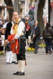 Oslo, Norvegia - 17 maggio 2010: Festa nazionale in Norvegia Fotografia Stock