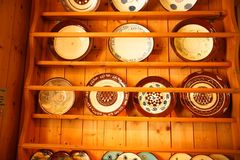 Vintage style pottery royalty free stock photography