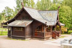 Traditional old house in Oslo Stock Photography