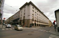 Oslo norway DnB banka budynku rozdroża Zdjęcie Stock
