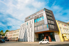 Oslo, Norway. Example Of Scandinavian Architecture, Exterior Office Building, Royalty Free Stock Photos