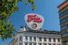 Freia clock royalty free stock image
