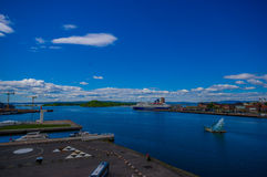 OSLO, NORWAY - 8 JULY, 2015: Oslofjord as seen Royalty Free Stock Photos