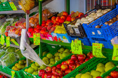OSLO, NORWAY - 8 JULY, 2015: Typical vegetable Royalty Free Stock Photos