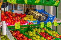 OSLO, NORWAY - 8 JULY, 2015: Typical vegetable Royalty Free Stock Photo