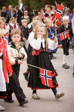Oslo, Norway - May 17, 2010: National day in Norway. Stock Photos