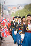 Oslo, Norway - May 17, 2010: National day in Norway. Stock Image