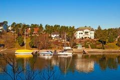 Oslo. Norway. Peninsula Bygdoy Royalty Free Stock Image