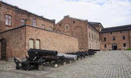 OSLO, NORWAY - SEPTEMBER 16, 2016: Akershus Fortress on 16 Sept stock image