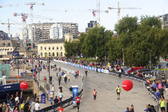 OSLO, NORWAY - SEPTEMBER 17, 2016: Oslo Maraton on 17 September royalty free stock photography
