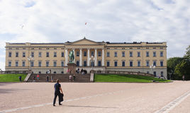 OSLO, NORWAY - SEPTEMBER 16, 2016: Oslo  The Royal Palace on 16 Stock Photo