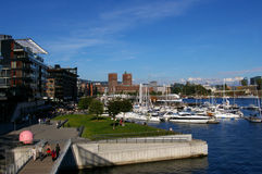 Oslo,Norway. Royalty Free Stock Image