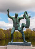 OSLO, NORWAY  - Vigeland Sculpture Park Stock Photography