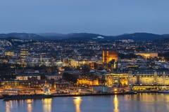 Oslo Norwegen stockbilder