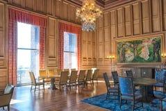 Oslo norwegen Die Stadt Hall Building Interior stockbilder