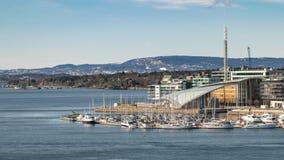 Oslo Norwegia czasu upływ zbiory