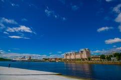 OSLO, NORWEGIA - 8 LIPIEC, 2015: Piękny Fotografia Stock