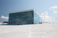 Oslo-Oper Stockfotografie