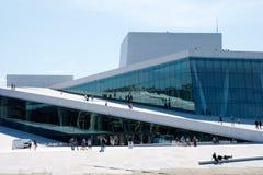 Oslo-Oper Stockfotos
