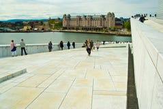 Oslo-Oper lizenzfreies stockbild