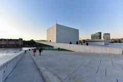 Oslo-Oper haus- Norwegen Stockbild