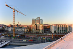 Oslo-Oper haus- Norwegen Lizenzfreie Stockfotografie