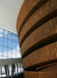 Oslo-Oper interiour Lizenzfreies Stockfoto