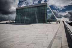 Oslo Opera House Royalty Free Stock Photography