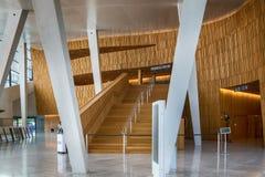 Oslo Opera House Atrium Entrance Area Royalty Free Stock Images