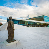 The Oslo Opera House is the home of The Norwegian Royalty Free Stock Image