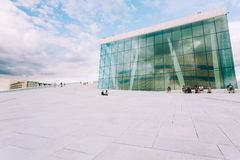 The Oslo Opera House is the home of The Norwegian National Opera Royalty Free Stock Photo