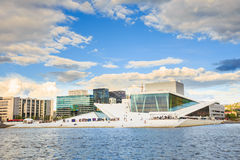 The Oslo Opera House is the home of The Norwegian Stock Image