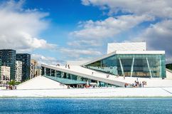 Oslo Opera House  in Norway Stock Image
