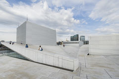 The Oslo Opera House, Norway Stock Photography