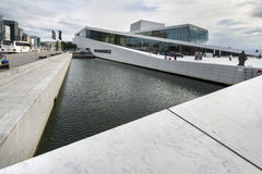 The Oslo Opera House in Norway. Stock Images